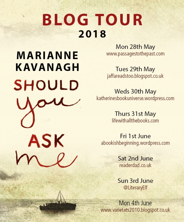 should you ask me blog tour poster