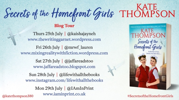 secrets of the homefront girl tour banner